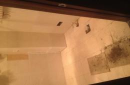 汉阳三里民居厕所漏水