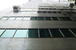 蔡甸华坤酒店楼外墙体翻新做防水