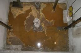孚特工业园电梯井防水防潮