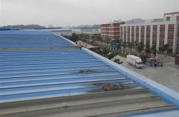 武汉市常福大道车城装备房顶需做防水