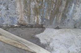 汉阳维也纳酒店消防水池墙壁漏水