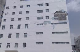 武昌区地税局办公楼外墙保温脱落、漏水找有资质相关公司