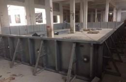 钢结构游泳池防锈防腐