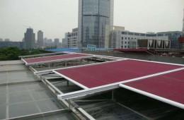 昌平华文学院副楼玻璃采光顶改造后漏水