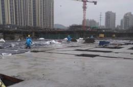 徐汇附近基槽做防水 找人包工!