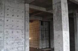 金紫山小区新建消防水池做防渗