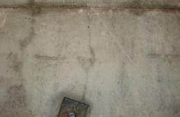江北俊豪名居地下室顶子和墙面有渗水