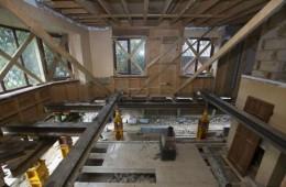 华岩中科设备中心室内做防水防潮