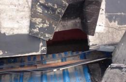 汉中门大街嵩佳烟酒房顶漏水