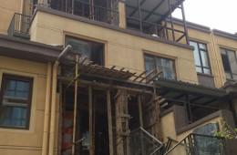 栖霞区汇杰文庭 现浇阳台想做个防水