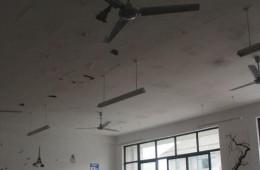 天津八中教学大楼房顶防水施工项目外包。
