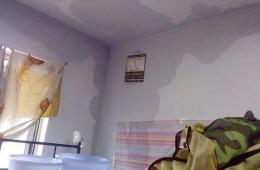 协成消防学校学生宿舍天花板漏水