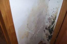 华清西路坚果公寓室内渗水