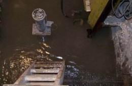 西安浐灞大厦电梯井漏水