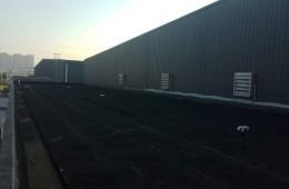 天府新区工业园一新材料科技有限公司 办公楼屋面做防水
