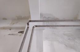 成都生物研究所 多处房顶渗水