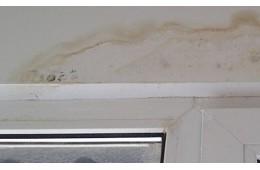 清涟路芯雅网咖 窗户上面有渗水的痕迹