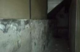 东圃购物中心 院内地下室返潮渗水