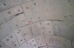 广州绕城帽峰山段隧道顶板结构主题渗水