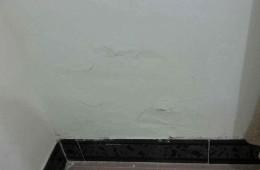 法院宿舍小区卧室墙壁渗水