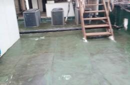 广州天河区爱群住宿 屋顶有在漏水