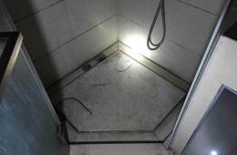 石家庄富强大街青园小区 卫生间往楼下漏水