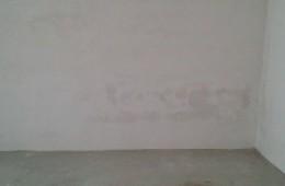 省岗南水库管理局宿舍 墙壁像是漏水找师傅上门检查