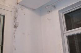 合肥瑶海区颍河旅馆 房间墙壁,窗户漏水