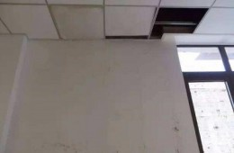 尖草坪区新城街道办 走廊天花板往下漏水
