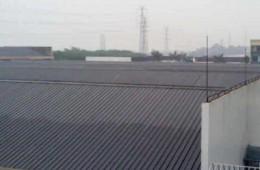 郑州一棉纺织有限公司 公司彩钢厂房屋顶有十几处漏水点