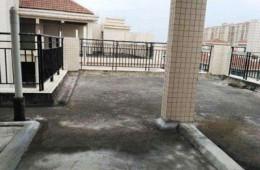 滨河名家二期 顶楼天台重新做防水
