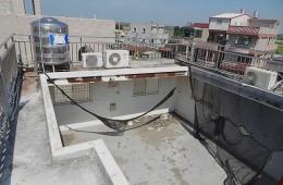 吴江区精神康复医院 露台天花板漏水
