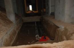 苏州东方铁塔公司 配电站高压电缆沟渗水