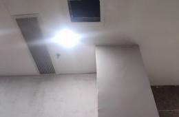 辽宁沈河区,沈阳教育学院 楼上排水管周围滴水