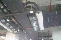 高新区大连建峰印刷 车间屋顶渗水