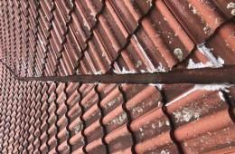中山区桃仙街瓦房房顶下雨天往室内灌水