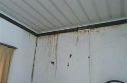 凌水桥乐哈哈超市 天花板漏水