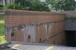 市南区锦绣华城地下停车场渗水