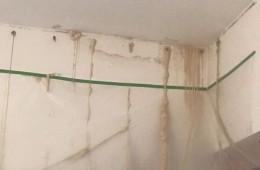 双蝶大厦地下室屋顶渗水