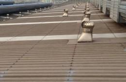 青岛威尔斯创新产业园厂区屋顶漏水