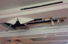 开发区社区服务中心天花板漏水