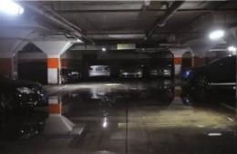 滨湖区仙河苑二期地下车库漏水
