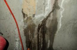 维科北仑工业园消防水池墙壁漏水