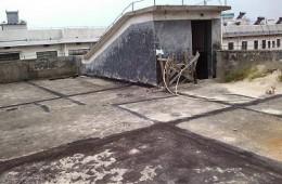 兰州市城关区柏道路小学屋面防水维修
