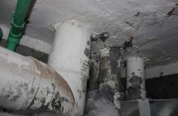 长春市南关区银河家园卫生间水管漏水