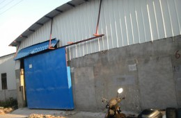 西夏区永生锅炉公司钢构房顶漏水