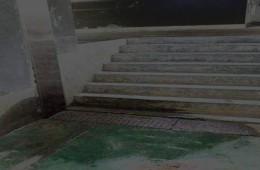 路北区凤城国贸地下停车场伸缩缝漏水