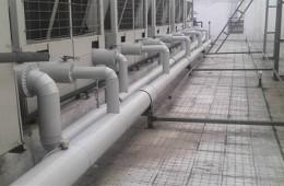 西山昆明第一净水厂屋顶防水维修