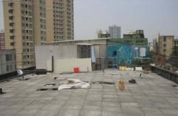 南昌市青山湖区玻璃厂宿舍屋面防水翻修