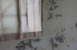 西湖区洪都无线电厂宿舍4栋墙壁渗水